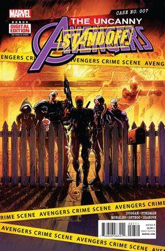 Uncanny Avengers #7 Marvel Comics (2016)