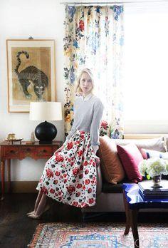 Moda Operandi's Indre Rockefeller invites us into her luxe home. See her pics here.