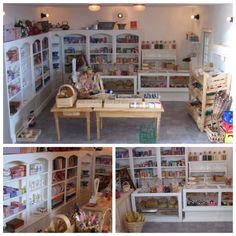 Poppenhuis winkel met veel zelf gemaakte miniaturen. Emmy s dollhouse.