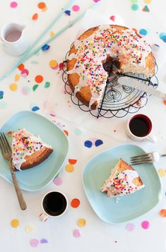 A donut cake!! I may have to make this during a moment of weakness or for a special birthday :)