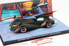 CK-Modelcars - MAG EY14: Batmobile Batman The Brave and the Bold Animated Series schwarz 1:43 Ixo Altaya Hersteller: Ixo Maßstab: 1:43 Fahrzeug: Batmobile Serie: Batman The Brave and the Bold Animated Series Artikelnummer: MAG EY14 Farbe: schwarz