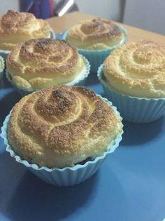 •Pie de limón Método Grez• Keto Foods, Keto Recipes, Muffin, Low Carb, Breakfast, Amor, Sugar Free Cakes, Gingerbread Cookies, Easy Food Recipes