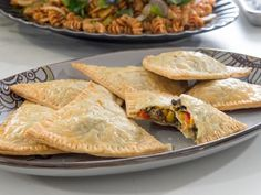 Get Braised Pork and Veggie Pockets Recipe from Food Network