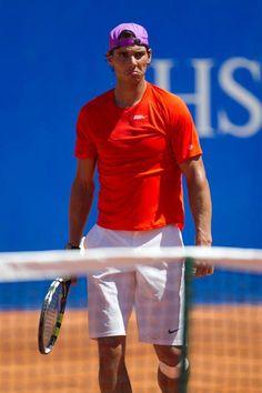 Grumpy Nadal.