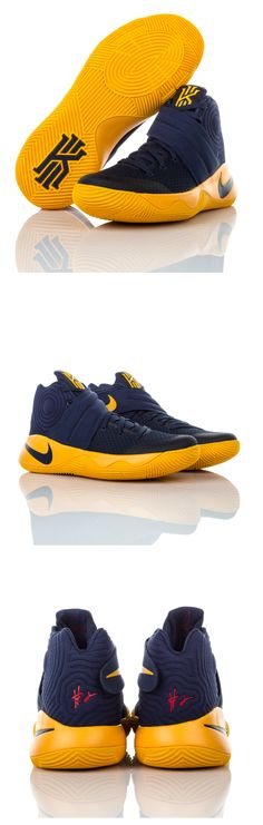 Wear them on-court or with sweatpants: these team-colored Nike Kyrie 2s are an everyday colorway. Available 5/19.