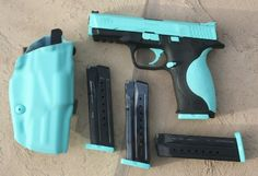 If I DuraCoat my Glock, I'd do this color I think! GOE Gun Works - Certified DuraCoat specialist for firearms, paintball, airsoft, refinishing and restoration. Best Concealed Carry, Conceal Carry, Smith N Wesson, Smith And Wesson Shield, Hunting Guns, Archery Hunting, Fire Powers, Cool Guns, Apocalypse Survival