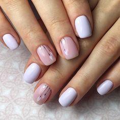 Make an original manicure for Valentine's Day - My Nails Diy Nail Designs, Elegant Nail Designs, Elegant Nails, Classy Nails, Stylish Nails, Simple Nails, Trendy Nails, Hair And Nails, My Nails