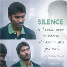 Silence Actor Quotes, Film Quotes, Hindi Quotes, Sad Quotes, Best Friend Quotes, Best Quotes, Whatsapp Profile Wallpaper, Friend Quotes Distance, Love Failure Quotes