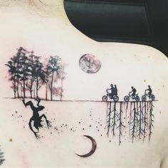 Stranger Things Tattoos | POPSUGAR Beauty