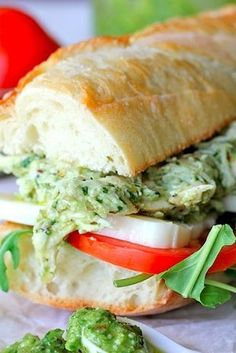 Lighter Chicken Salad with Pesto | 23 Boneless Chicken Breast Recipes That Are Actually Delicious