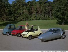 GM's 512 Series Urban Cars.  Check out this line up!