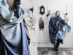 Oversized Scarf, Hooded Scarf, Unique Scarf, Boho Scarf, Gypsy Shawl, Plus Size Clothing, Gift for her, Bohemian Shawl, infinity Scarf by Jevda on Etsy