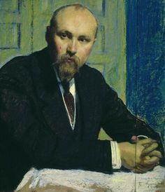 Portrait of Nikolay Rerich (1913)