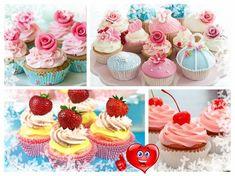 Krémy pre cupcakes Mojito Cupcakes, Fruit Cupcakes, Mini Cupcakes, Cupcake Frosting, Cupcake Cakes, Best Fruits, Pretty Cakes, Beautiful Cakes, Cupcake Recipes