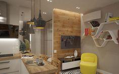 Hogyan rendezz be egy pici lakást otthonosan szép látványos elemekkel kényelmes ággyal
