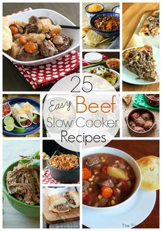 25 Easy Beef Slow Cooker Recipes