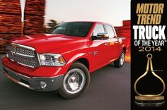 2014 Ram 1500 is Motor Trend's 2014 Truck of the Year
