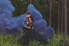 Dramatic smoke bomb photography makes the perfect backdrop for our black tulle skirt. Just stunning. Smoke Bomb Photography, Photography Poses, Conceptual Photography, Creative Photography, Black Tulle Dress, Lace Dress, Gothic Wedding, Dream Wedding, Gothic Dress