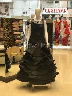 Elegant gowns only at FESTIVAL LALGATE SURAT    The House of Saree, Chaniya choli, Dress, Gown, Indo-western, Unstitch material etc. For Live Video shopping / whatsapp / FaceTime call +91 8469977360  Follow us : @festival.india   #indianfashion #indianethnic #lehengacholi #weddinglehenga #indianwear #zariv#reshamwork #sequin #partywear #lehengas #designerwear #festivalstyle #bridesmaids #bride #fashionblogger #styleblogger #instafashion #silk #festivalsurat #wedding #festivalsurat#lalgate Choli Dress, Lehenga Choli, Saree, Elegant Gowns, Gowns Of Elegance, Indian Ethnic, Designer Wear, Festival Fashion, Indian Wear