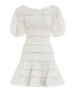 Zimmermann Bowie Contour Hailspot Dress from Resort Swim 19 Girly Outfits, Modest Outfits, Fashion Outfits, Womens Fashion, Off White Dresses, Day Dresses, Casual Dresses, Resort Dresses, Short Lace Dress