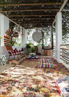 Casa Adriana Barra. Floors! www.naturalarearugs.com