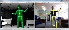 Kinect BVH Motion Capture