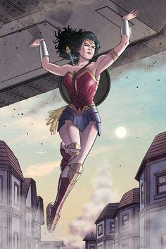 Wonder Woman Created by Ian Navarro