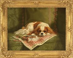 Cavalier King Charles Spaniel – Graceful and Affectionate Cavalier King Charles Spaniel, King Charles Dog, Cute Dog Photos, Dog Pictures, Spaniel Dog, Dog Portraits, Animal Paintings, Dog Art, Awesome Dogs
