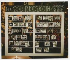 Polaroid Photobooth... awesome! | Photo by http://mananetwork.net  Yeah THIS! :)