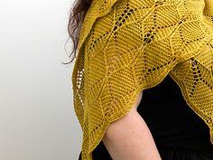 Ravelry: Beeswax Shawl pattern by Amy van de Laar