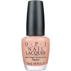 Opi Dulce De Leche ❤ liked on Polyvore