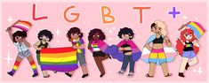 Art by fairyquartz on DeviantArt. Lgbt Quotes, Lgbtq Flags, Pansexual Pride, Gay Aesthetic, Lgbt Community, Gay Art, Gay Pride, Cute Art, Deviantart