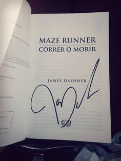 #Book #MazeRunner; #CorreroMorir