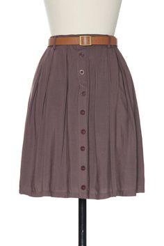 Looking Effortless for Errands Skirt   Vintage, Retro, Indie Style Bottoms