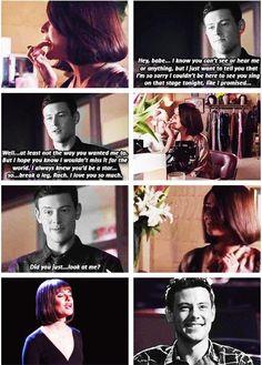 Finchel  #GleeCast #RachelBerry #Finchel @msleamichele @CoryMonteith @GLEEonFOX