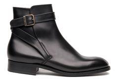 Men dress shoes Brown Boots 722 - Weston