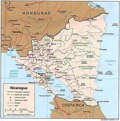 Mapa de Nicaragua - Buscar con Google