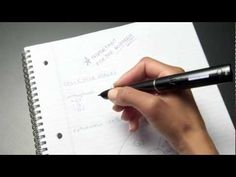 Livescribe smartpen in action:  Great idea for students looking to take notes and recording lectures.