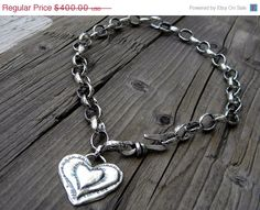 SALE Custom Necklace Chunky Handcrafted by DeetabyDesign