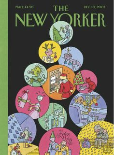 Xmas stories Joost Swarte   The New Yorker Covers
