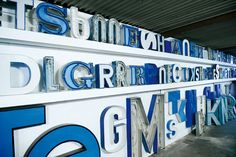 Buchstabenmuseum in Berlin, a collection of rescued neon signage currently housed in a former grocery store