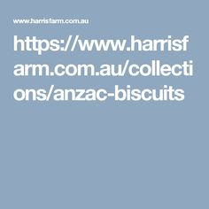 https://www.harrisfarm.com.au/collections/anzac-biscuits