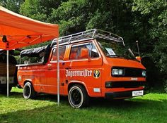 The 'JägerBus', Custom T25 CrewCab, 1.9AAZ conversion, full shot bar business