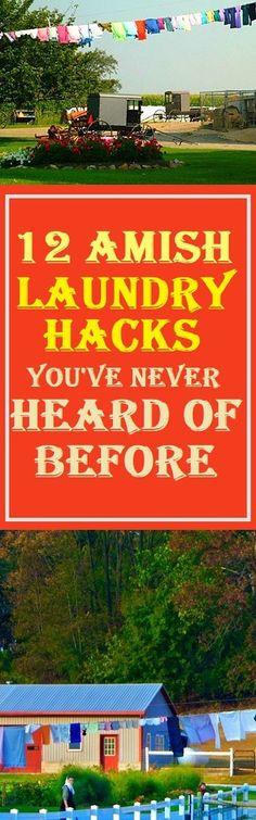 Amish Laundry Tips #amish #laundry #laundrytips #lifestle