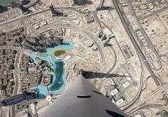 View from Burj Khalifa - Dubai.