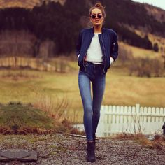 FASHION BLOGGER STYLE - KRISTINE ULLEBO #howtochic #ootd #outfit