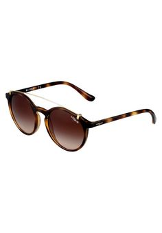 VOGUE Eyewear. Lunettes de soleil - brown . Étui à lunettes:Étui rigide. largeur:14 cm en taille 51. Motif / Couleur:dégradé. Longueur des branches:13.5 cm en taille 51. Filtre UV:oui. Largeur du pont:2.0 cm en taille 51