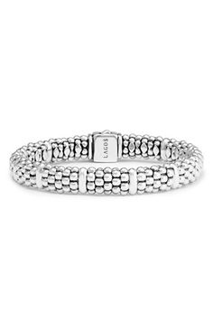 LAGOS Oval Rope Caviar Bracelet available at #Nordstrom