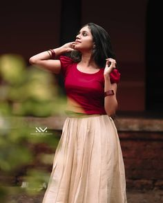Full Skirt And Top, Casual Frocks, Party Wear Indian Dresses, Desi Girl Image, Concept Photography, Indian Girls Images, Beautiful Girl Image, Traditional Looks, Girls Dpz