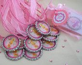 disney fairies birthday party favors, girls, set of 10, rosetta, tinkerbell, silvermist, vidia,iridessa. $25.00, via Etsy.